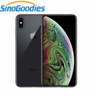 ปลดล็อกใช้ Apple iPhone XS MAX 6.5 นิ้ว OLED จอแสดงผล 4G LTE Face ID โทรศัพท์มือถือ 4 GB RAM 64 GB/256 GB ROM A12 IOS12 สมาร์ทโฟน