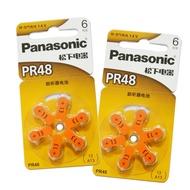 Panasonic 助聽器電池 PR48 (13)『6入』SONY電池【GN232】◎123便利屋◎
