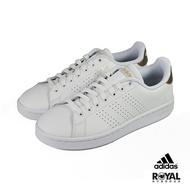 【滿額↘領券再折$150】Adidas Advantage 白色 皮質 運動休閒鞋 女款 NO.J0033【新竹皇家 F36223】