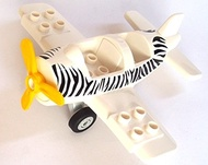[Direct from Germany] LEGO Duplo propeller airplane aircraft with Safari print set 6156