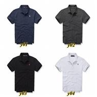 【任選三件1350】AF短袖T恤 純白色T恤POLO衫 AF HCO POLO衫 刺繡情侶裝POLO衫