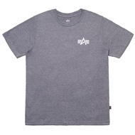 ALPHA 男女 SMALL LOGO TEE 短T 鐵灰【A-KAY0】【UTS49001G1CH】