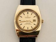 原裝真品 OMEGA 歐米茄 星座系列 正18K半金(685)天文台自動機械古董錶 女錶