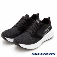 SKECHERS GO RUN RIDE 7 女鞋 慢跑 輕量 避震 針織 透氣 反光 黑【運動世界】15200BKW