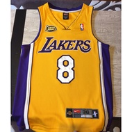 NBA 湖人 Kobe Bryant 2001總冠軍 8號 主場 AU 球衣