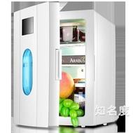 行動小冰箱 10L迷你小冰箱小型家用單門學生單人宿舍用冰箱車載車家兩用T 2色