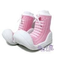 *童款仿鞋襪型學步鞋 襪鞋 寶寶鞋 [170] 粉【巷子屋】