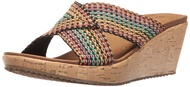 Skechers Women's Beverlee Delighted Wedge Sandal