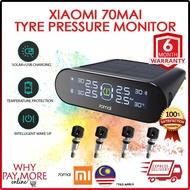 Xiaomi 70mai Smart Car TPMS Tire Pressure Monitor System Car Security Alarm Tyre