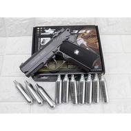 WG321 小 45 手槍 CO2槍 + 12g CO2 鋼瓶 ( BB槍BB彈瓦斯槍玩具槍直壓槍COLT M1911