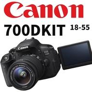 【二手】Canon 700D + 18-55mmKIT鏡 附配備