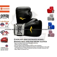 ✈Everlast Punching Bag and Pad Work Boxing Gloves (BAG AND PADDING GLOVES)