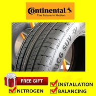 Continental UC6 SUV tyre tayar tire (With Installation) 235/55R19 225/55R19