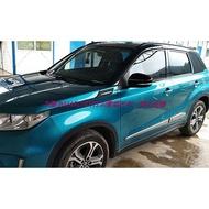 VITARA鈴木SUZUKI車身防撞條改裝內飾非燈眉碳纖維不鏽鋼67EB7