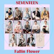 Seventeen Japan Album Photocard (happy Ending, Fallin Flower, 24h, Hitorijyanai)