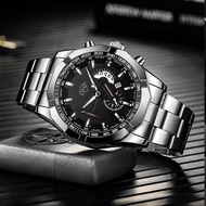 The new DHP genuine automatic movement watch men's sports calendar hollow mechanical concept of non-luminous waterproof watch