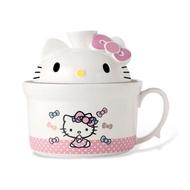 Hello Kitty 造型泡麵碗 全新