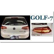 JY MOTOR 車身套件~福斯 VW GOLF 7代 2012-2015年 類7.5代 光柱 流光方向燈 LED尾燈