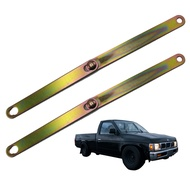 เหล็กโซ่ กะบะท้าย สลิง โซ่ บานพับ เหล็กยึด ฝาท้ายกระบะ จำนวน 2ชิ้น บิ๊กเอ็ม 993 BDI D22 2ประตู 4ประตู ซ้ายและขวา  สีทอง Nissan  Big m Frontier ฟรอนเทียร สินค้าราคาถูก คุณภาพดี