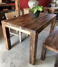 老柚木原木拼接餐桌 (L140 W80 H75.6 cm)