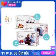 Frozen II Wel-B Freeze-dried Yogurt Mixed Berry & Strawberry & Apple 42g. (โยเกิร์ตกรอบ รสสตรอเบอรรี่, รสมิกซ์เบอร์รี่ เเละรสแอปเปิ้ล ตราเวลบี โฟรเซ่น 2) (แพ็ค 3 กล่อง) - ขนม ขนมเด็ก ขนมเพื่อสุขภาพ ฟรีซดราย ไม่มีน้ำมัน ไม่ใช้ความร้อน มีประโยชน์ ไม่ติดคอ
