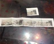 郵票‼️清郎世寧 百駿圖(一)~(五)+ (一)x1