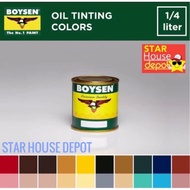 &curren  BOYSEN Oil Tinting Color Paint