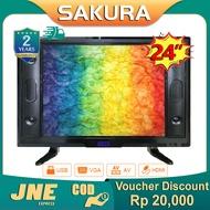 Weyon Sakura TV LED 24 inch HD Ready Televisi Murah (TCLG-S24BWIDE)