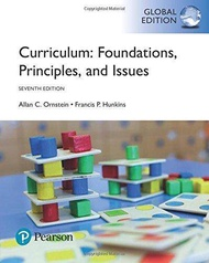 Curriculum: Foundations Principles and Issues 7th edition by Allan Ornstein - ISBN 9781292162072 / 1292162074