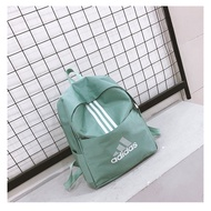 Outdoor climbing Retro unisex Boy bag Adidas Backpack Adidas Backpack กระเป๋าสะพาย Adidas