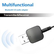 USB Bluetooth Audio Receiver Transmitter 2-in-1 AUX 5.0 Bluetooth Adapter