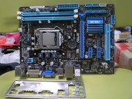 高雄路竹--華碩 P8B75-M LX PLUS(含檔板)加 i5-3470 (1155腳位)
