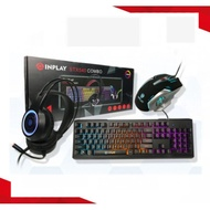 Inplay STX540 Combo Gaming Keyboard, Mouse and Headset