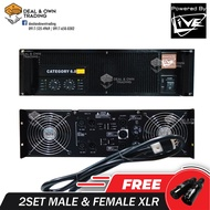 Live Category 6.0 Powered Amplifier