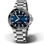 ORIS 豪利時 Aquis時間之海300米潛水錶 73377324135-82105PEB 藍