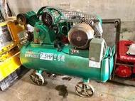【TAIWAN POWER】清水牌 二手 中古 7.5HP 空壓機 空壓機 壓縮機 空氣壓縮機 螺旋空壓機 往復式 復盛