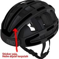 Cikacika321 Sticker Helmet Fend One Hi-Vis Reflective 3m Sticker