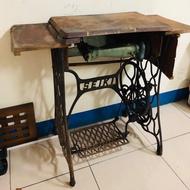復古懷舊 踩踏式裁縫機 可自行改造成玄關桌