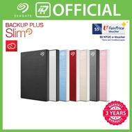 [Free $5 NTUC e-Voucher] Seagate Backup Plus Slim Portable 2TB Hard Drive [free gift]