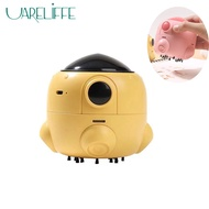 Uarellife Portable Mini Desk Vacuum Cleaner Cute Desktop Keyboard Cleaner Computer Brush Dust Collect Robot Vacuum Cleaner Sweep Cleaning Tools For Office School Supplies