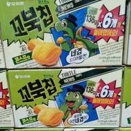 ORION好麗友烏龜玉米脆片(136公克 X 6包)(幫幫買/好市多代購)