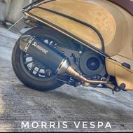 [ Morris Vespa ] AKRAPOVIC 蠍子管🦂️ Vespa 3V Iget 現貨不用等