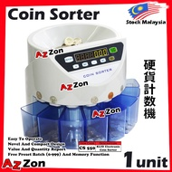 Money Bank Coin Counter Coin Sorter Machine (New / Old) Ringgit Sen Malaysia Coin Sorter