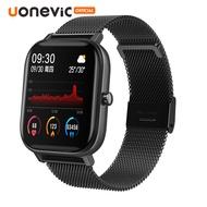 [รองรับภาษาไทย]Uonevic Smart Watch P8 นาฬิกาสมาร์ทวอทช์นาฬิกาสมาทวอช นาฬิกาอัจฉริยะ นาฬิกาข้อมือ นาฬิกาข้อมือ นาฬิการุ่นใหม่ สำหรับ amazfit GTS watch