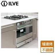 【iILVE】義大利ILVE原裝進口嵌入式四口安全瓦斯爐連烤箱(I6640CGGV/I)