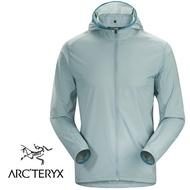 【ARCTERYX 始祖鳥 加拿大】INCENDO 風衣外套 風衣夾克 運動外套 機械灰 (L07159400)