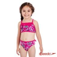 SPEEDO 幼童 女 休閒兩截式泳裝 Tidal Idol 粉紅貝殼