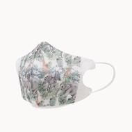 一心一罩 幼幼3D醫用口罩(10入/袋)~叢林寶地 易廷醫用口罩