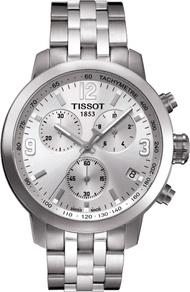 非凡品味 天梭TISSOT時尚簡約銀灰三眼計時機能天梭錶會議百搭實用款七天預購+現貨