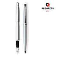 【SHEAFFER】VFM系列閃亮銀鋼筆+原子筆